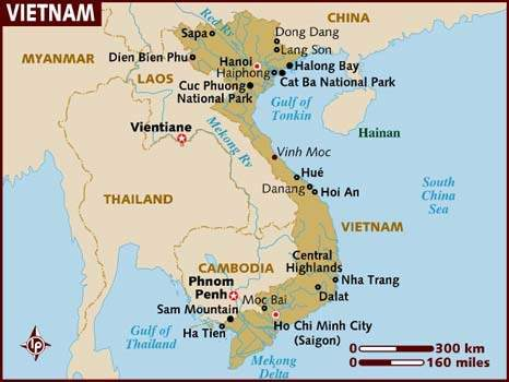 What part of vietnam speak french?  ( what region )